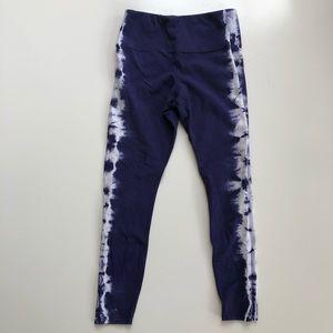 Tie dye workout leggings